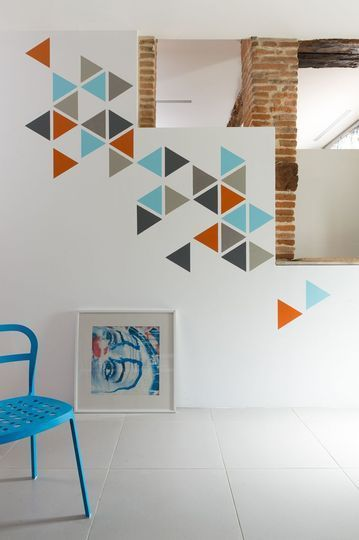 Pinterest le catalogue d 39 id es for Decoration murale geometrique