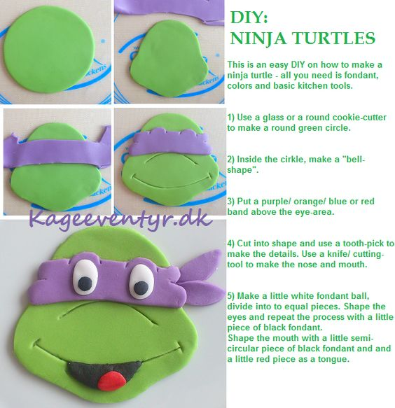 Diy ninja turtles this is an easy way to make