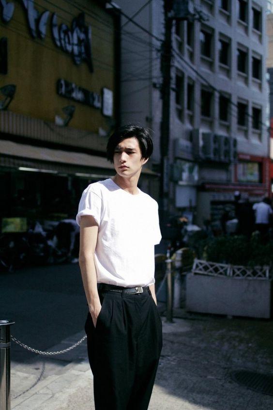 Asian men short hair style