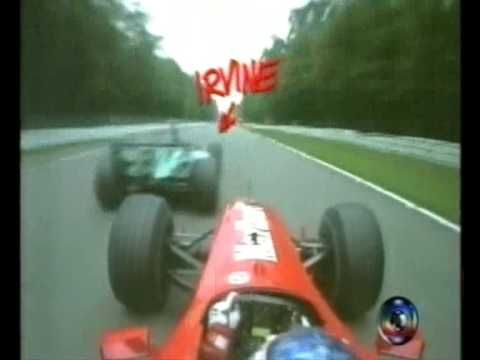 Barrichello On-Board Hockenheim 2000 - TV GLOBO