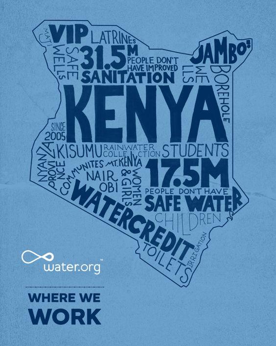 Kenya | 17.5 million people in Kenya lack access to safe water. | #WhereWeWork | Water.org