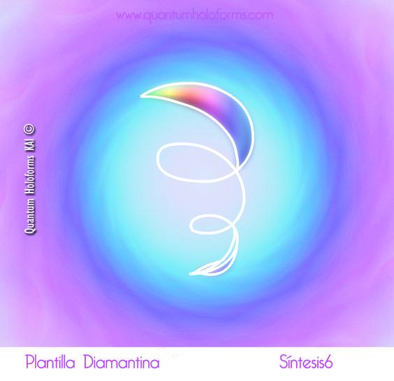 En esta ocasión la Plantilla Diamantina porta la energía del movimiento y su frecuencia es AVANZAR. Ser claro con tu sentir y permitirte avanzar hacia nuevas formas de relacionarte contigo mismo y con los demás forma parte de la esencia de la nueva energía que la Tierra ha puesto en movimiento. En todos los casos el corazón y tu voz interior, aquella que te guía desde el Amor te indicarán cual es el camino a seguir. Atrévete a escucharlo y da un paso más allá, hacia tu Maestría Interior.