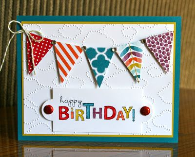Stampin' Up! Birthday by Krystals Cards and More: Bring on the Cake