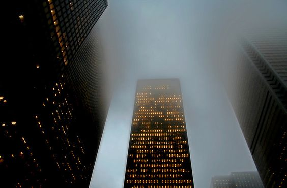 Smog, fog and façade by Michael Rugosi, via Flickr