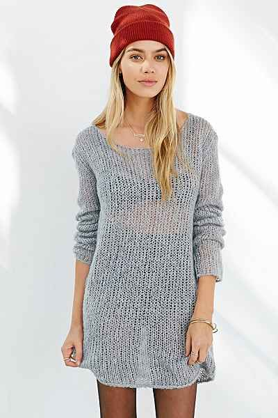Kimchi Blue Delicate Off-The-Shoulder Sweater - Urban Outfitters 49.99