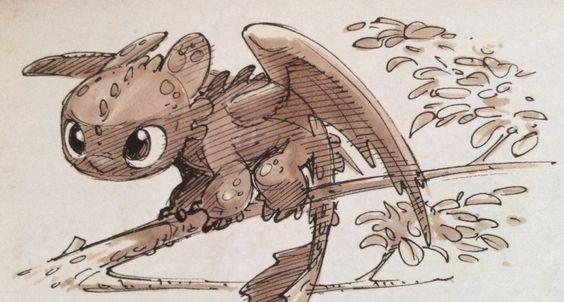 Artbooks: HttyD2 - Little Toothless by YuJoYamiToHikari. Best one i have seen so far