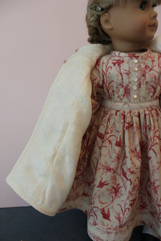 American Girl Doll Clothes Victorian Style by ForAllTimeDesigns