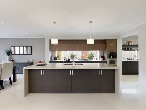 Home cupboards and linens on pinterest for Metricon kitchen designs