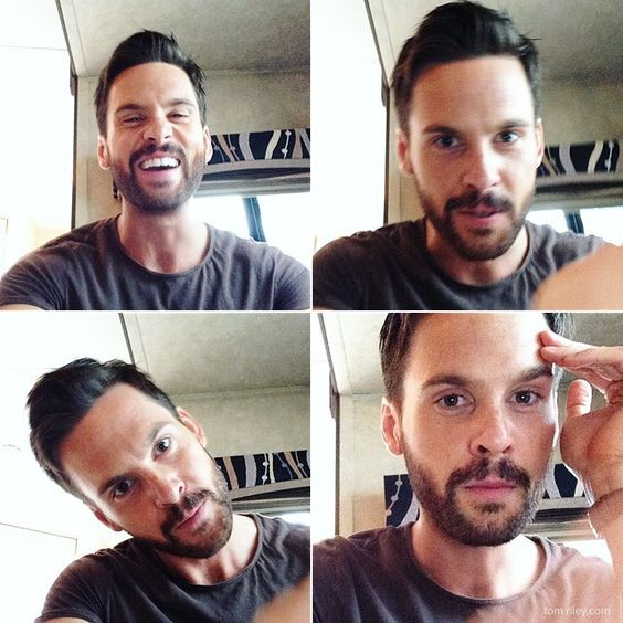 Tom Riley being funny and adorable during my interview with him on the set of Da Vinci's Demons season 3. #TomRiley #DaVincisDemons #TBT