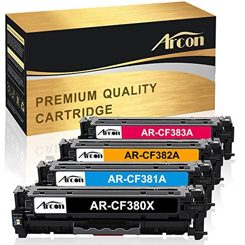Arcon Compatible Toner Cartridge Replacement For Hp 312x 312a Cf380x Cf381x Cf382x Cf383x Cf380a Cf381a Cf382a Cf383a For Hp Color Laserjet Pro Mfp M476nw M476d Toner Cartridge Car Charger Usb Samsung