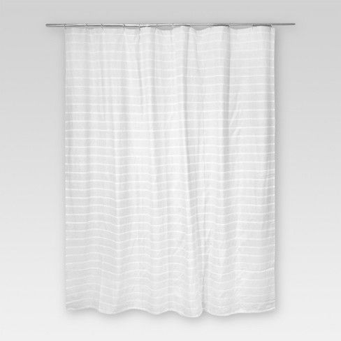 The Light Stripe Shower Curtain From Threshold 153 Is Sure To