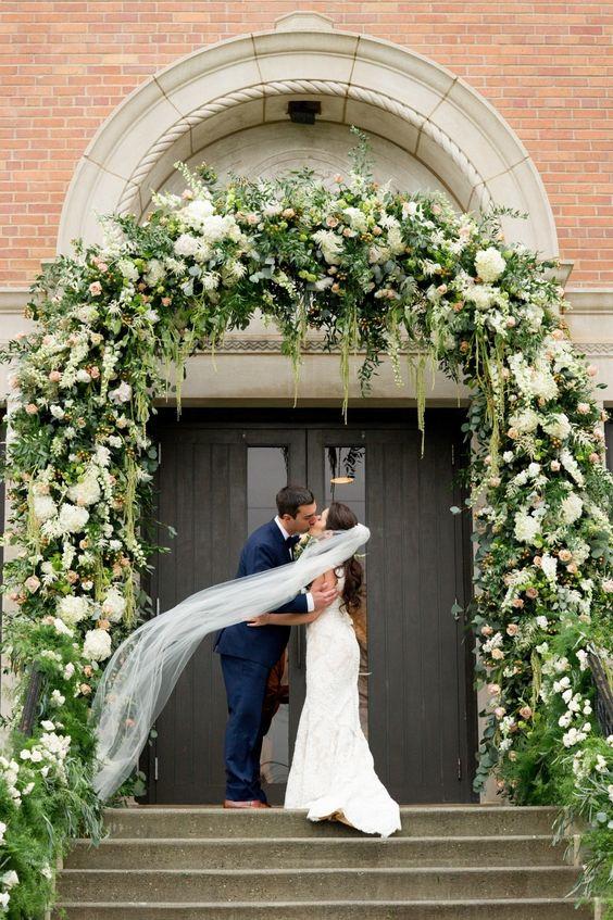 Photography: Twah Dougherty of Style-Art-Life - http://www.stylemepretty.com/portfolio/twah-dougherty-of-style-art-life   Read More on SMP: http://www.stylemepretty.com/2015/04/17/elegant-new-jersey-fall-wedding/