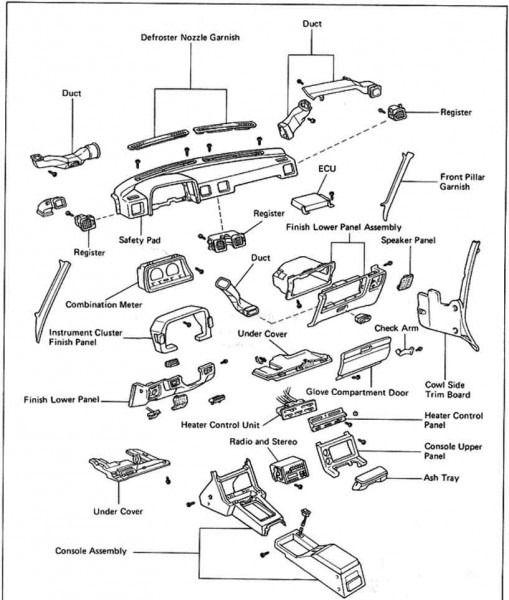 2003 Toyota Sequoia Parts Toyota Sequoia Diagram