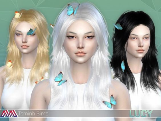 The Sims Resource: Lucy set by tsminh