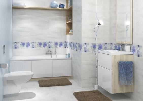 Glazura, ceramiczne płytki łazienkowe i kafelki kuchenne