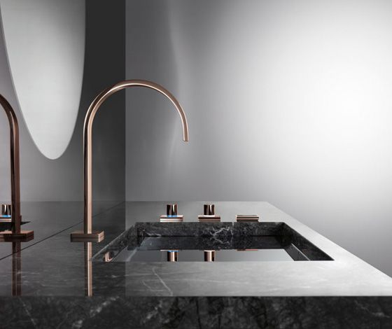 Cyprum Mem Fittings By Sieger Design For Dornbracht 7 Luxury Bathroom Brands At Salone Del