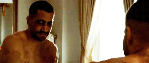 "Jake Gyllenhaal in Southpaw - ""You should see the other guy!"""