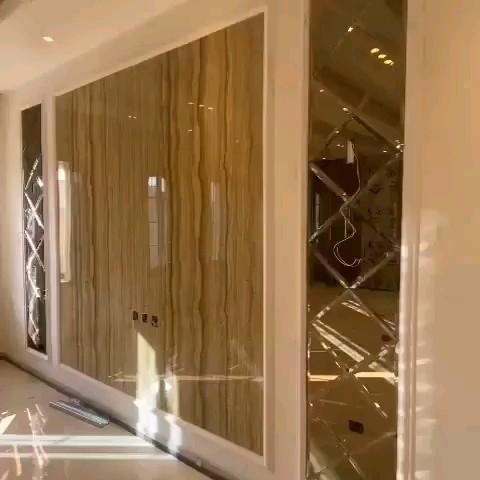 ديكور خلفية Tv خلفية تلفاز بديل الرخام ديكورات تلفزيون خلفية ديكور شاشة تلفاز الرياض0535711713 Video Luxury Living Room Home Decor Home