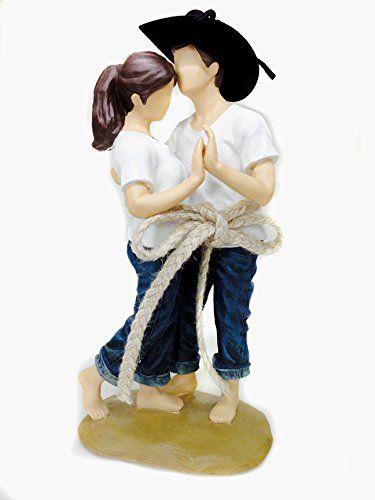 Figurine gateau de mariage western