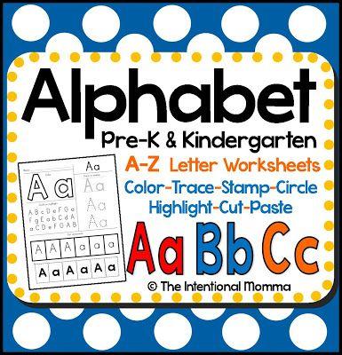 math worksheet : printable worksheets kindergarten and preschool on pinterest : Homeschool Kindergarten Worksheets