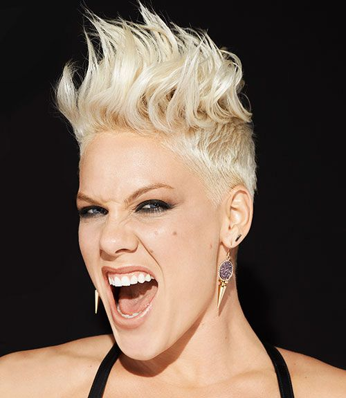 pink singer hair mohawk p nk hair mohawk photos hair pinterest photos hair and pink. Black Bedroom Furniture Sets. Home Design Ideas