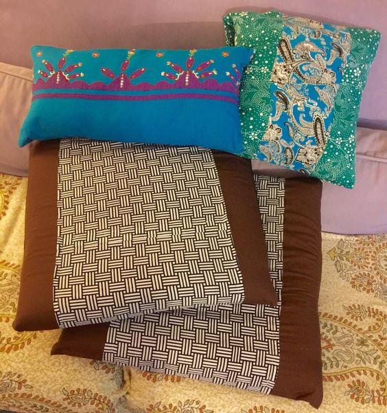 The Good Life Blog | Scrap-Busting Cushion Covers