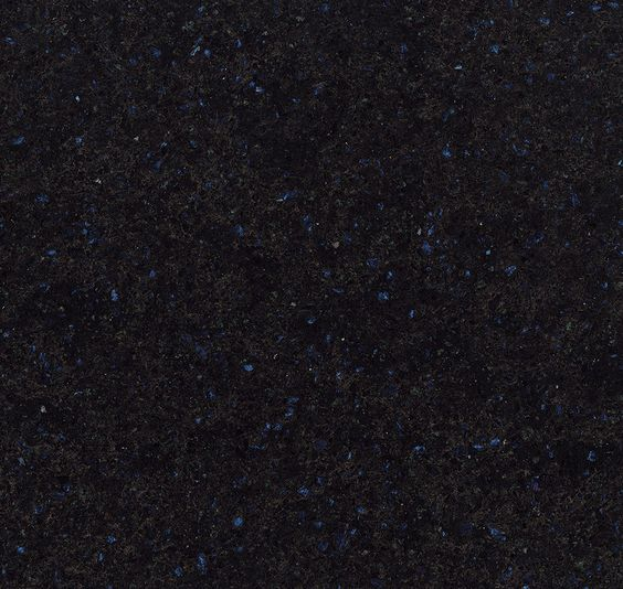 Cambria countertop in Charston color...black with specks of blue and copper veins
