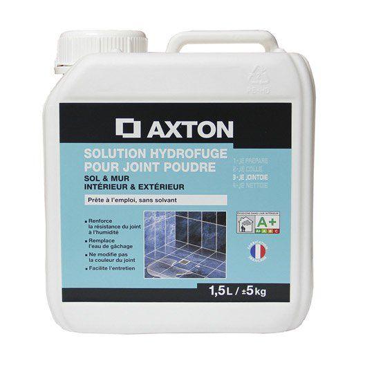 Solution Hydrofuge Tout Type De Carrelage Et Mosaique Axton Incolore 1 5 L Avec Images Carrelage Sol Carrelage Murs Marron