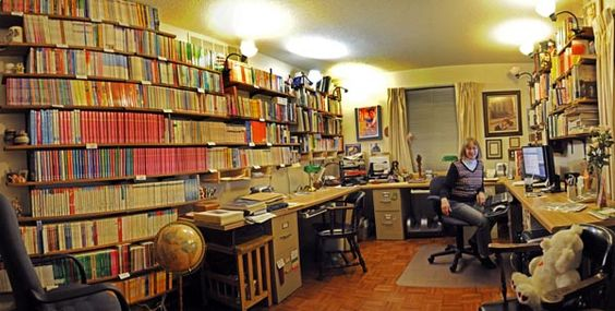After 29 years of publishing, author Leigh Michaels needed a bigger office...