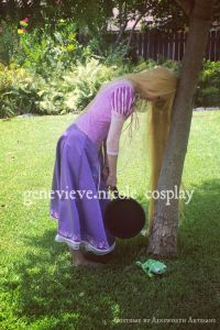 Rapunzel cosplay by genevieve.nicole cosplay.  Costume by Ainsworth Artisans