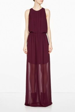Jeshi Long dress With Pleats by Dagmar