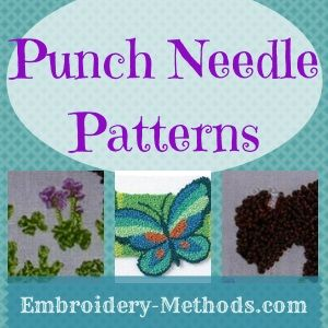 Punch Needle Punch Needle Patterns And Punch On Pinterest
