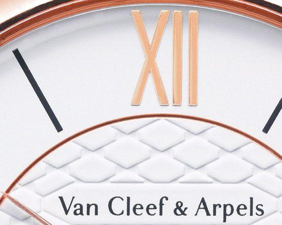 Van Cleef & Arpels - Pierre Arpels - Dial - Watch detail #watchdesign
