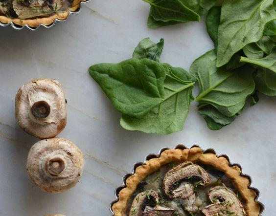 tarte cogumelos #Nhammm