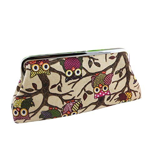Malloom® Neue Mode Frauen Schönen Stil Damen Brieftasche Schließe Eule Geldbeutel Kupplung Tasche (khaki) - http://eulen-schmuck.de/malloom-neue-mode-frauen-schoenen-stil-damen-brieftasche-schliesse-eule-geldbeutel-kupplung-tasche-khaki/ #Atdoshop148898 #EulenGeldbeutel
