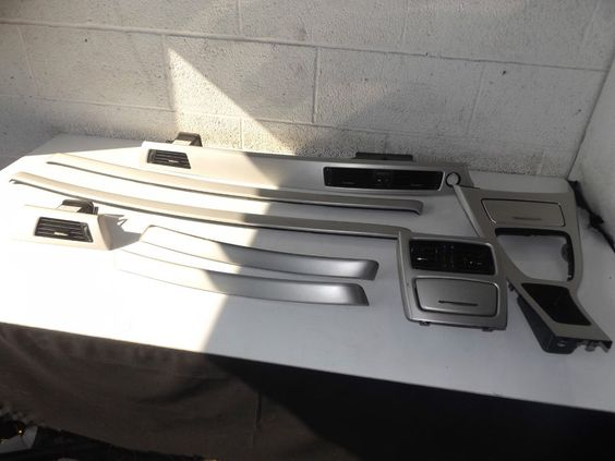 Bmw E92 8 Piece Interior Trim Finishers In Silver 57253 Bmw Parts We Sell Pinterest