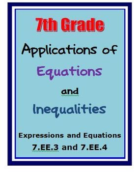 Writing Linear Equations from Word Problems – Foldable