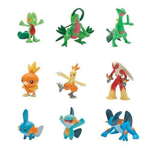 Tomy Xl Multi Pack Action Figure Pokemon Mini Figures Pokemon