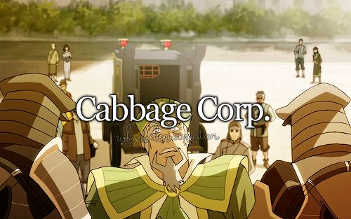 reasons to love tlok; I think that was my favorite thing about korra - knowing the cabbage man finally made it despite all his mishaps.