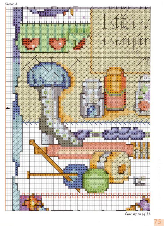 stitcher's sampler 5/8