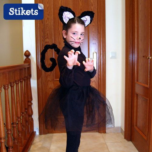 Disfraz casero de gata disfraces pinterest blog - Disfraces de gatitas para nina ...