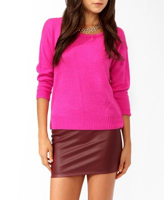 Relaxed Dropped Shoulder Sweater | FOREVER21 - 2000040221