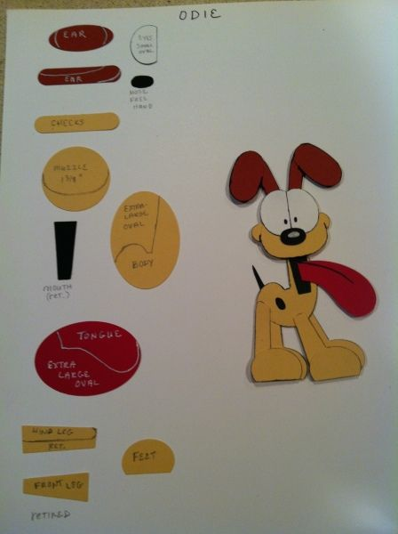 Odie Punch Art design by Lynda Gustafson