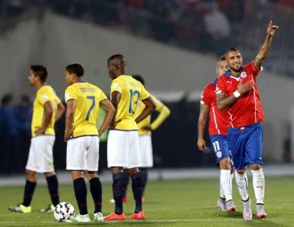 Ecuador cayó 2-0 ante Chile en su debut por Copa América - Fútbol - Deportes   El Universo