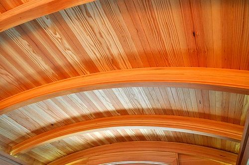 Arched ceiling