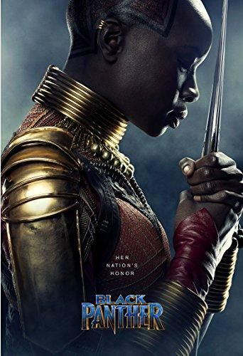 BLACK PANTHER Movie PHOTO Print POSTER Film 2018 Marvel T'Challa Textless 004