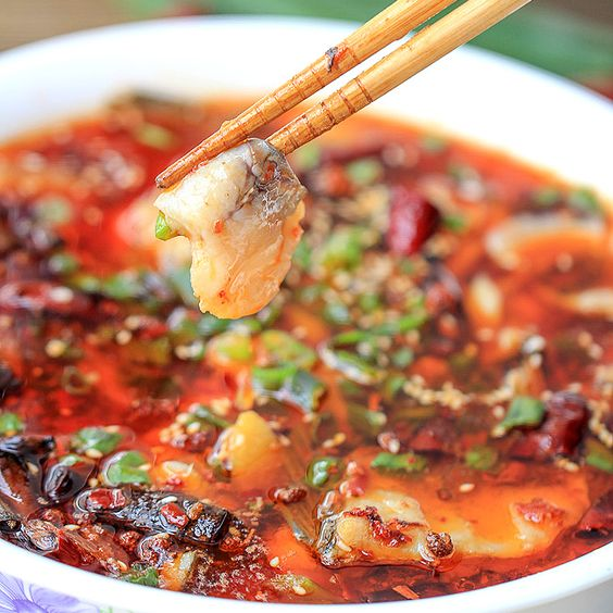 Fish fish soup and chili oil on pinterest for Fish oil for cooking