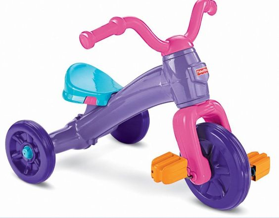 Toy Bike Kids Boys Girls Grow With Me Trike Adjustable  Seat And Pedals Ride  #FisherPrice