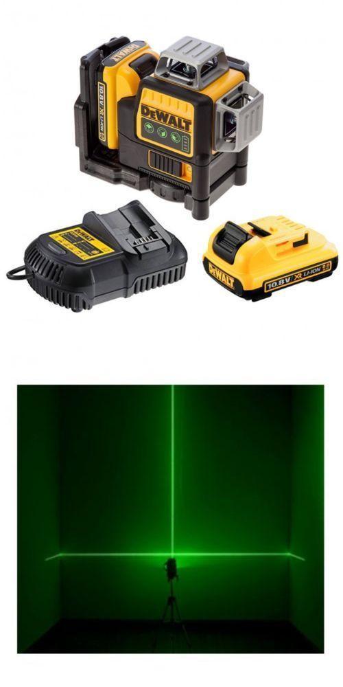Laser Measuring Tools 126396 Dce089d2g Green 360 Self Levelling Cross Line Laser Level 2 X Batteries Buy It Now Only Measuring Tools Tools Laser Levels