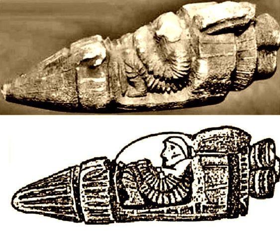 Háromezer éves űrhajós kőszobor Törökországban | Costa Del Sol magazin